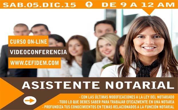 Asistente Notarial - Curso Online